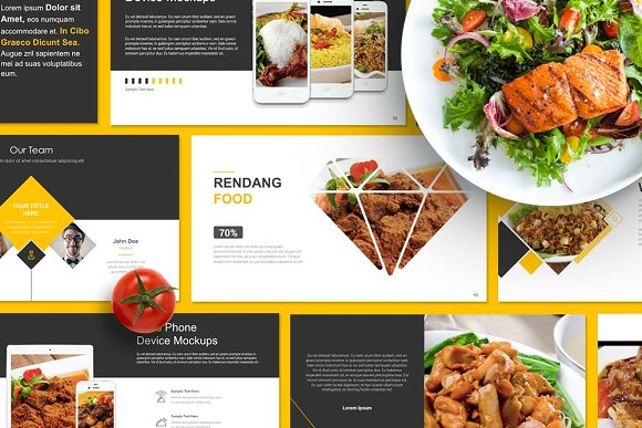 Food presentation powerpoint presentation templates creative food presentation powerpoint presentations toneelgroepblik Images