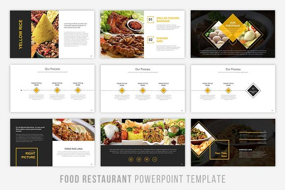 Food presentation powerpoint presentation templates creative food presentation powerpoint presentation templates creative market toneelgroepblik Image collections