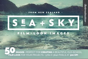Sea and Sky Film-Look Photo Bundle