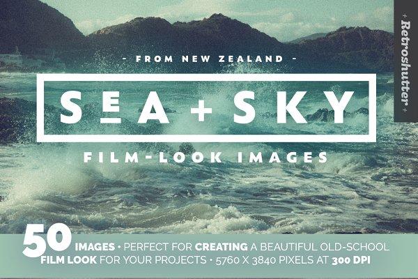 Sea and Sky Film-Look Photo Bundle