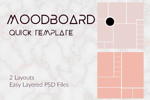 Moodboard Instagram or Blog Template