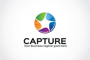 Capture Logo Template