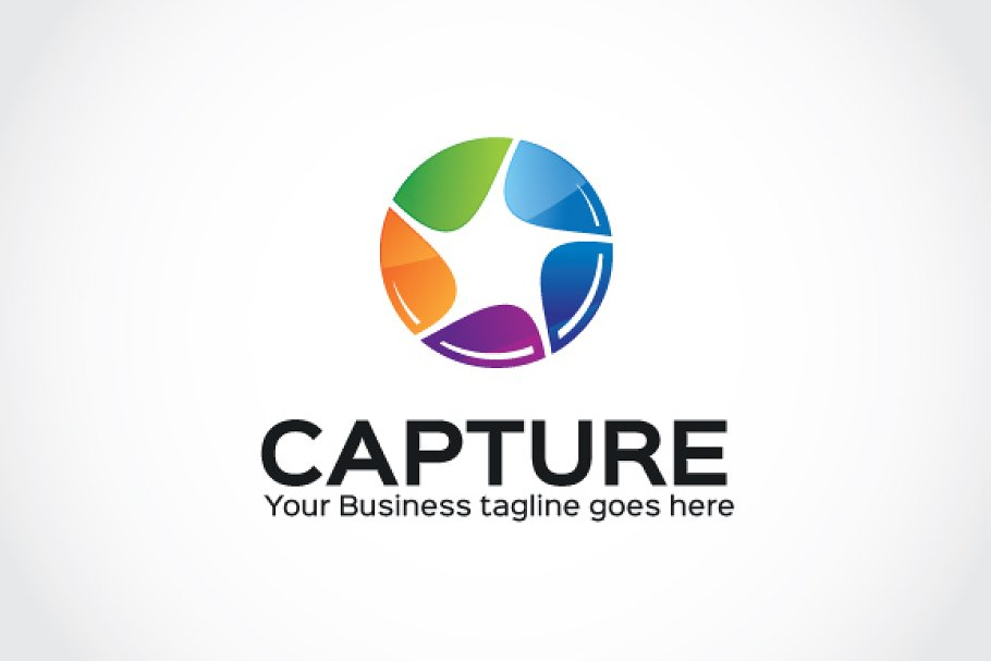 Capture Logo Template in Logo Templates - product preview 8