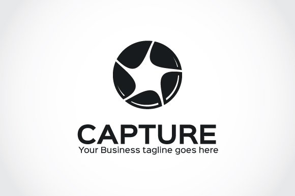 Capture Logo Template in Logo Templates - product preview 3