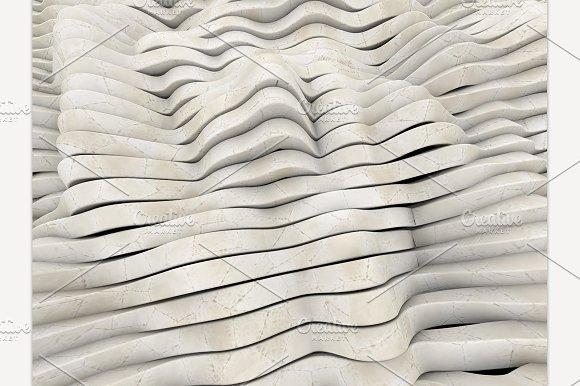 Marble Geometric Wavy Background
