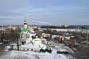 View of Vladimir city. Russia.