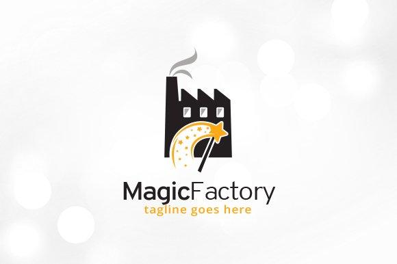 Magic Factory Logo Template Design