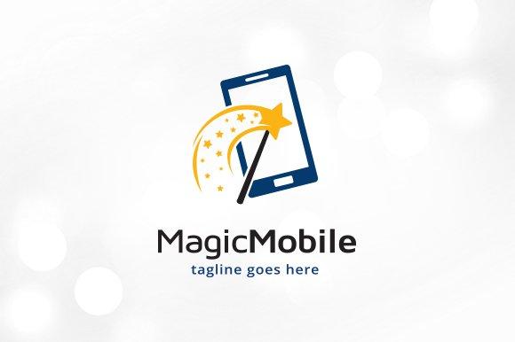 Magic Phone Logo Template Design