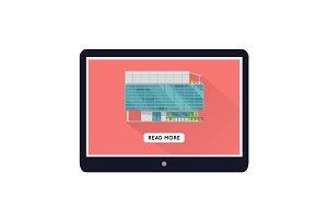 Commercial Building Web Design Template