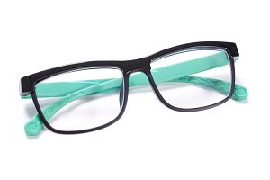 Glasses isolated white background
