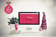 ❄ Christmas ❄ 4 photo mockups