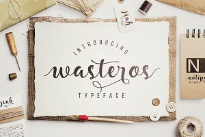 Wasteros Typeface