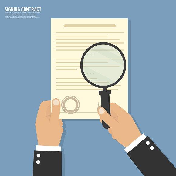 Vector Agreement Icon