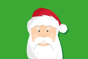 Santa Claus. Merry Christmas