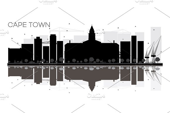 Cape Town City Skyline