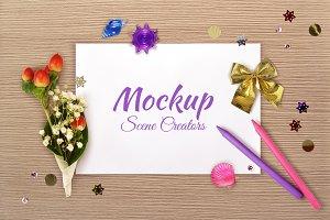 Mockup scene creator