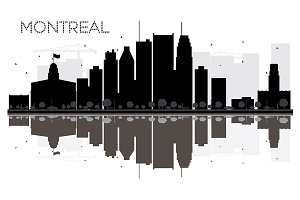 Montreal City skyline