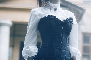 Victorian styled model