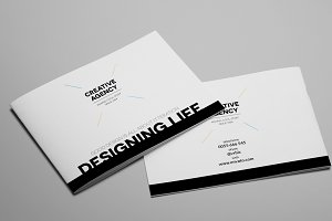 Creative Agency A5 Brochure InDesign