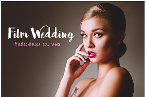 Film Wedding Photoshop Curves