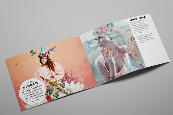 Creative Agency A5 Brochure InDesign in Brochure Templates - product preview 3