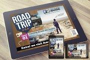 RoadTrip Magazine Template for iPad