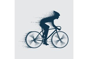 cyclist sport bicyclist