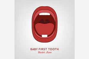 Baby First Teeth