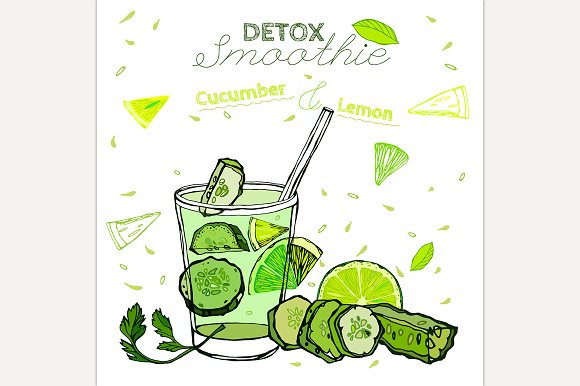 Detox Cucumber Smoothie