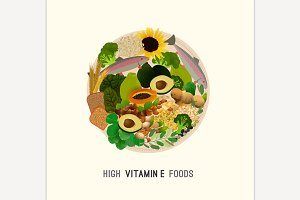 Vitamin E in Food