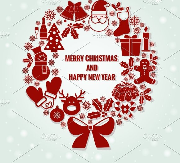 Merry Christmas and Happy New Year ~ Illustrations ...