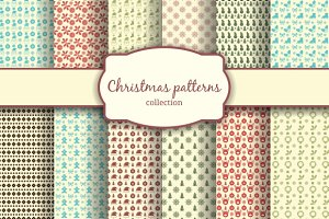 Assortment of Christmas Patterns