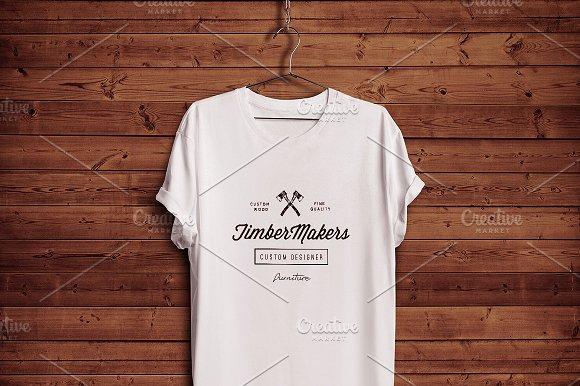 White Blank T-shirt 03