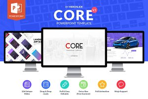 Core, Business Powerpoint Template
