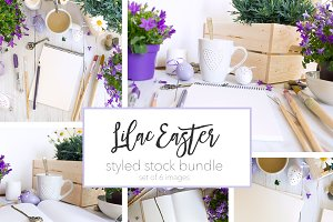 Lilac Easter Styled Photo Bundle
