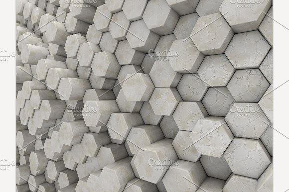 Abstract Marble Geometric Background