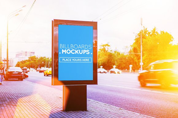 Posters Billboards Mock-ups Vol.2