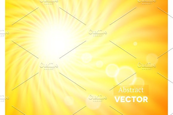 Abstract Background With Wavy Sunshine