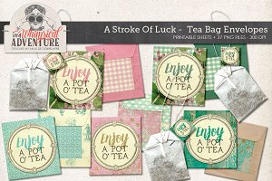 Printable DIY Tea Bag Envelopes