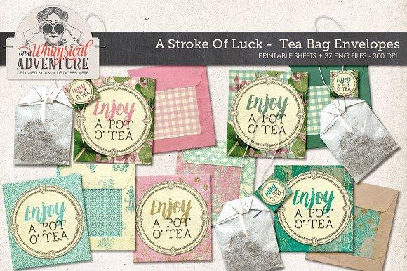 Printable DIY Tea Bag Envelopes