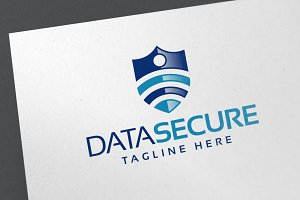 Data Secure Logo Template