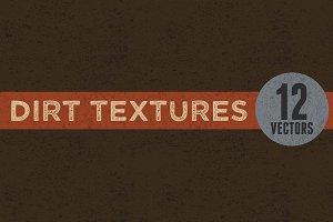 12 Vector Dirt Textures