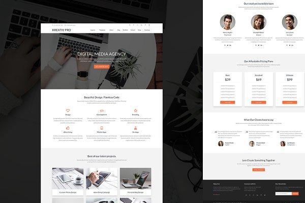 Kreativ Pro Genesis WordPress Theme