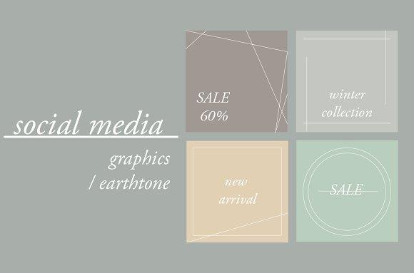 Earthtone Social Media Pack