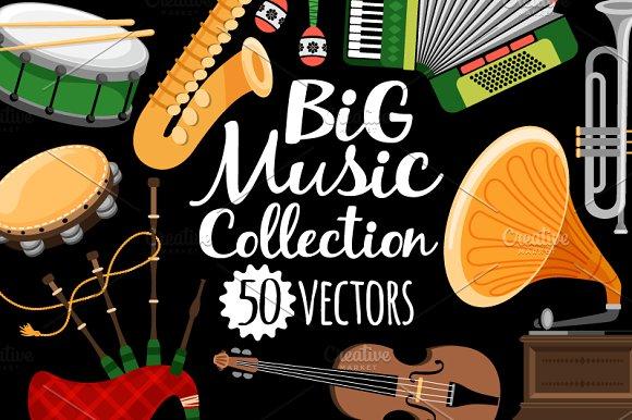 Big Set Of Music Icons