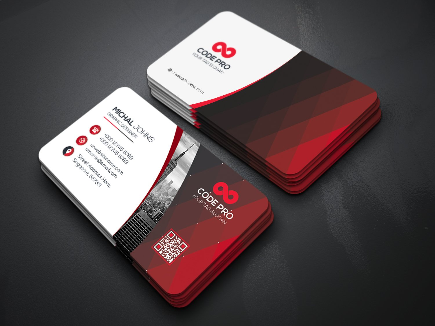 mail designer pro templates - simple professional business cards business card