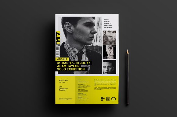 Photography Exhibition Poster V3