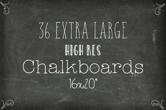 36 chalkboard backgrounds xl edition textures creative market