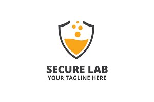 Secure Lab Logo Template