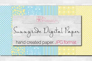 Sunnyside Digital Paper - 6 Designs